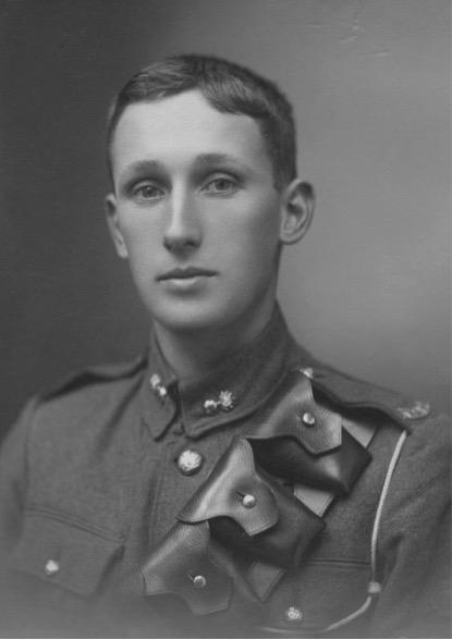 Thomas Alton Macalister in uniform